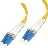 C2G 2m LC/LC Duplex 9/125 Single-Mode Fiber Patch 2m LC LC Yellow fiber optic cable