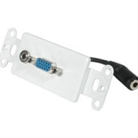 C2G 37091 White flat panel wall mount