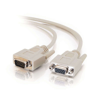 C2G 15ft Economy HD15 M/F SVGA Monitor Extension Cable VGA cable