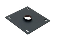 Chief Ceiling Plate Black flat panel ceiling mount