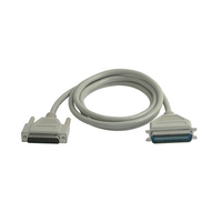 C2G 12ft IEEE-1284 DB25M to C36M Parallel Printer Cable 3.65m White printer cable