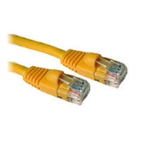 C2G 5ft Cat5E 350MHz Snagless Patch Cable 1.8m Yellow networking cable