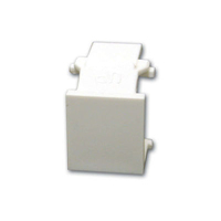 C2G Snap-In Blank Keystone Module Grey cable interface/gender adapter