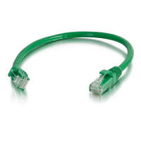 C2G 10m Cat6 Patch Cable 10m Cat6 U/UTP (UTP) Green networking cable