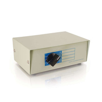 C2G 4-1 DB25 Manual Switch Box White KVM switch