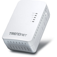 Trendnet Powerline 500 AV2 Wireless Access Point 500Mbit/s Ethernet LAN Wi-Fi White 1pcs PowerLine network adapter