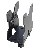 Ergotron 80-107-200 Desk-mounted CPU holder Zwart CPU-houder