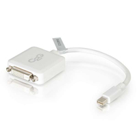 C2G 54312 Mini DisplayPort DVI-D White cable interface/gender adapter