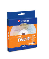 Verbatim 97957 4.7GB DVD-R 10pcs Read/Write DVD