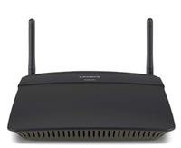 Linksys EA6100 Dual-band (2.4 GHz / 5 GHz) Fast Ethernet Black wireless router