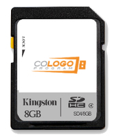 Kingston Technology 8GB microSDHC Co-Logo 8GB MicroSD Flash Memory