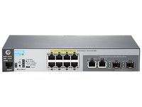Hewlett Packard Enterprise Aruba 2530 8G PoE+ Managed L2 Gigabit Ethernet (10/100/1000) Power over Ethernet (PoE) 1U Grey