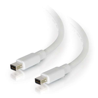C2G 54412 3.05m Mini DisplayPort Mini DisplayPort White DisplayPort cable