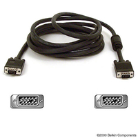 Belkin PRO Series High-Integrity VGA/SVGA Monitor Replacement Cable 3m VGA (D-Sub) VGA (D-Sub) Black VGA cable