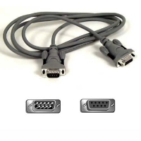 Belkin F2N209-10-T 3m Grey KVM cable