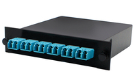 Add-On Computer Peripherals (ACP) ADD-3BAYC1MP6LCDM3 Black,Blue network equipment chassis