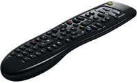 Logitech 915-000235 IR Wireless Press buttons Black remote control