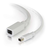 C2G 54413 0.91m Mini DisplayPort Mini DisplayPort White DisplayPort cable