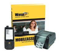 Wasp MobileAsset.EDU Pro + HC1 & WPL305 5U bar coding software
