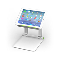 Belkin B2B118 Tablet Multimedia stand Green,Silver multimedia cart/stand