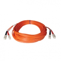 Tripp Lite Multimode Fiber Optics 30-m (100-ft.) Duplex MMF 50/125 Patch Cable, SC/SC 30m Orange fiber optic cable