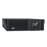 Tripp Lite SmartOnline, 3kVA Double-conversion (Online) 3000VA 9AC outlet(s) Rackmount/Tower Black uninterruptible power supply