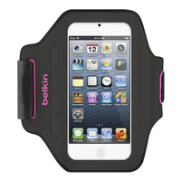 Belkin Ease-Fit Armband case Black,Pink