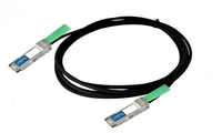 Add-On Computer Peripherals (ACP) 5m QSFP+ m/m 5m Black networking cable