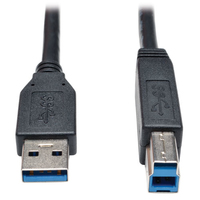 Tripp Lite U322-015-BK 4.57m USB B USB A Male Male Black USB cable
