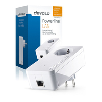 Devolo dLAN 1200+ 1200Mbit/s Ethernet LAN Wit 1stuk(s) PowerLine-netwerkadapter