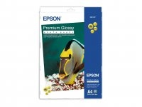 Epson Premium Glossy Photo Paper, DIN A4, 255g/m², 20 Sheets