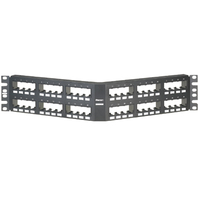 Panduit CPPA48FMWBLY 2U Patch Panel