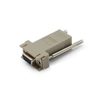 Add-On Computer Peripherals (ACP) DB9F2RJ12M DB-9 RJ-12 Grey cable interface/gender adapter