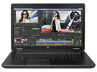 "HP ZBook 17 G2 Base Model RCTO 2D 17.3"" Black Mobile workstation"
