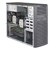 Supermicro SYS-7038A-I LGA 2011 (Socket R) Midi-Tower Black PC/workstation barebone