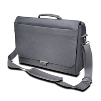 "Kensington LM340 Messenger Bag — 14.4""/36.6cm - Cool Gray"