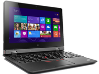 "Lenovo ThinkPad Helix 1.1GHz M-5Y70 11.6"" 1920 x 1080pixels Touchscreen Black Notebook"
