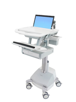 Ergotron StyleView Notebook Multimedia cart Aluminium,Grey,White