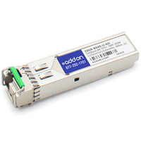 Add-On Computer Peripherals (ACP) 10GB-BX40-U-AO Fiber optic 1330nm 10000Mbit/s SFP+ network transceiver module