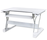 Ergotron WorkFit-T White computer desk