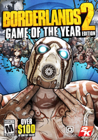 2K Borderlands 2: Game of the Year Edition Deluxe PC English video game