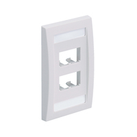 Panduit CFPE4WHY White switch plate/outlet cover