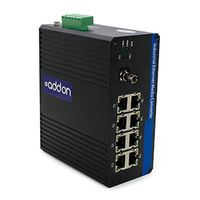 Add-On Computer Peripherals (ACP) ADD-IGMC-BXU-1ST8 1000Mbit/s 1550nm Single-mode Black network media converter