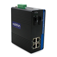Add-On Computer Peripherals (ACP) ADD-IGMC-BXU-2FC4 1000Mbit/s 1550nm Single-mode Black network media converter
