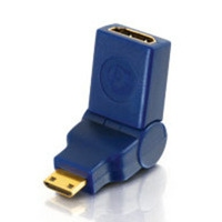 C2G M HDMI™ Mini Port Saver Adapter HDMI F HDMI Mini M Blue cable interface/gender adapter