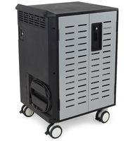 Ergotron DM40-1009-3 Portable device management cart Black,Grey portable device management cart & cabinet