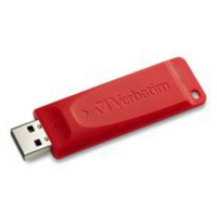Verbatim 98525 128GB USB 2.0 Type-A Red USB flash drive