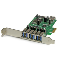 StarTech.com PEXUSB3S7 Internal SATA,USB 3.0 interface cards/adapter