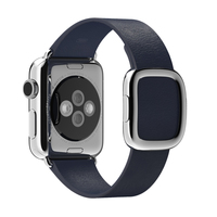 Apple MJ5A2ZM/A Band Blauw Leer smartwatch-accessoire