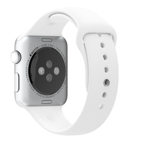 Apple MJ4M2ZM/A Band Wit Fluorelastomeer smartwatch-accessoire